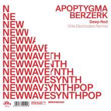 "Apoptygma Berzerk & Vile Electrodes: Deep Red (Limited Edition), Single 7"""