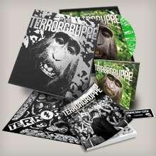 Terrorgruppe: Tiergarten (Limited Edition) (Green Sparkled Glitter Vinyl) (+ Lieder-/Comicbuch + Bandana), LP
