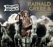 Rainald Grebe: Berliner Republik (Limited-Edition), LP