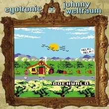 "Egotronic & Johnny Weltraum: Odenwald (Clear Vinyl), Single 7"""
