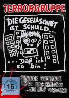 Terrorgruppe: Sündige Säuglinge hinter Klostermauern (CD + DVD), CD