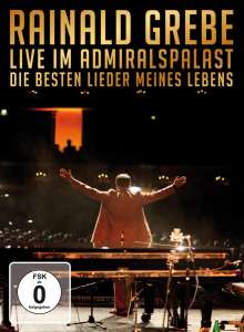Rainald Grebe: Live im Admiralspalast 2009: Die besten Lieder meines Lebens, DVD
