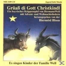 Biermösl-Blosn: Grüaß di Gott Christkindl, CD