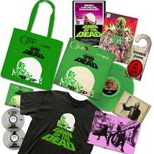 Filmmusik: Dawn Of The Dead (Limited-Edition) (Colored Vinyl), 2 CDs, 1 LP, 1 T-Shirt und 1 Merchandise