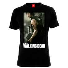 The Walking Dead: Daryl Hunter (Shirt XL/Black), T-Shirt