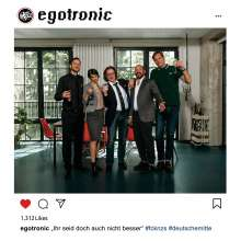 Egotronic: Ihr seid doch auch nicht besser, CD