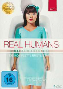 Real Humans Season 1, 4 DVDs