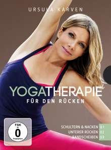 Yogatherapie für den Rücken 1-3, 3 DVDs