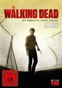 The Walking Dead Staffel 4 (Uncut), 5 DVDs