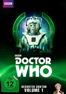 Doctor Who - Sechster Doktor Vol. 1, 5 DVDs