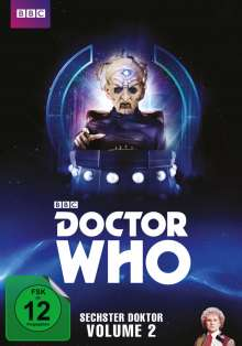 Doctor Who - Sechster Doktor Vol. 2, 5 DVDs