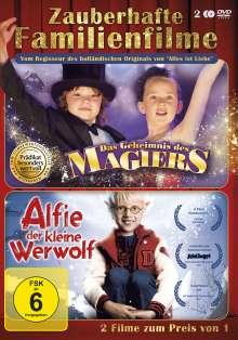 Zauberhafte Familienfilme: Alfie, der kleine Werwolf / Das Geheimnis des Magiers, DVD