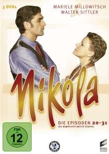 Nikola Box 3, 3 DVDs