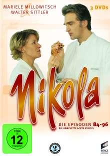 Nikola Box 8, 3 DVDs