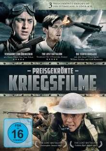 Preisgekrönte Kriegsfilme (Die Teufelsbrigade / Verdammt zum Überleben / The Lost Battalion), 3 DVDs
