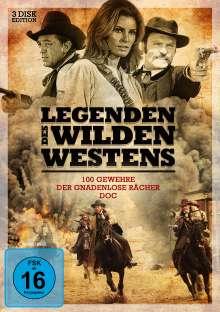 Legenden des Wilden Westens, 3 DVDs