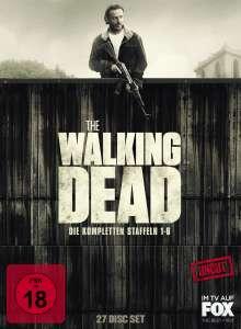 The Walking Dead Staffel 1-6 (Uncut), 27 DVDs