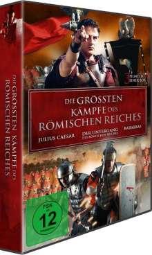 Die größten Kämpfe des Römischen Reiches, 3 DVDs