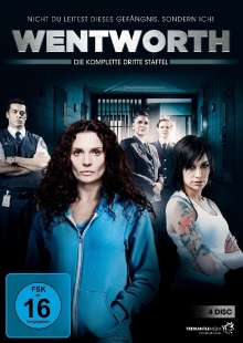 Wentworth Staffel 3, 4 DVDs