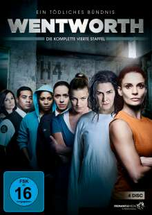Wentworth Staffel 4, 4 DVDs