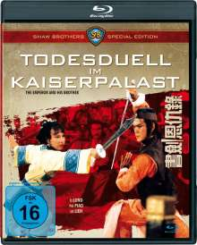 Todesduell im Kaiserpalast (Blu-ray), Blu-ray Disc