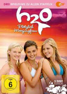 H2O Plötzlich Meerjungfrau (3 Filme Box), 3 DVDs