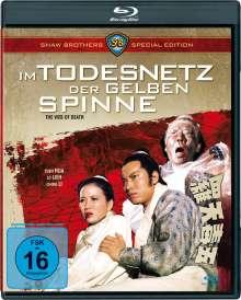 Im Todesnetz der gelben Spinne (Blu-ray), Blu-ray Disc