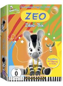Zeo - Zebra-Box (Komplette Staffel 1), 10 DVDs