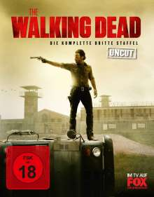 The Walking Dead Staffel 3 (Blu-ray), 5 Blu-ray Discs