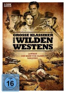 Grosse Klassiker des Wilden Westens (3 Filme), 3 DVDs