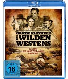 Grosse Klassiker des Wilden Westens (3 Filme) (Blu-ray), 3 Blu-ray Discs