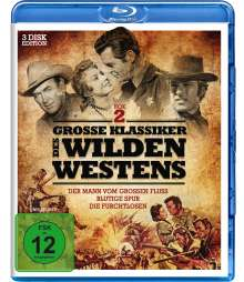Grosse Klassiker des Wilden Westens 2 (3 Filme) (Blu-ray), 3 Blu-ray Discs