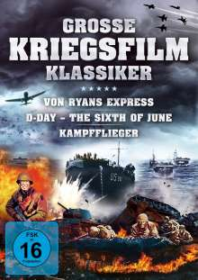 Grosse Kriegsfilm-Klassiker, 3 DVDs