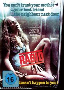 Rabid (1977) (Limited Fridge Edition) (Blu-ray & DVD), 1 Blu-ray Disc und 1 DVD