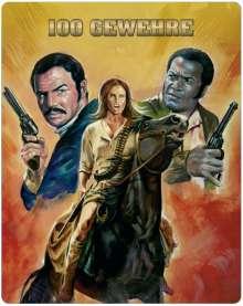 100 Gewehre (Novobox Klassiker Edition) (Blu-ray im Metalpak), Blu-ray Disc