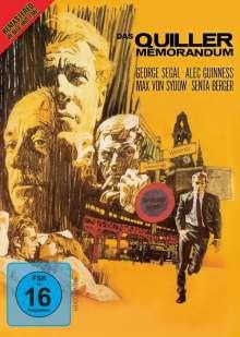The Quiller Memorandum, DVD