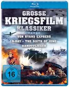 Grosse Kriegsfilm-Klassiker (Blu-ray), 3 Blu-ray Discs