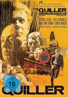 The Quiller Memorandum (Blu-ray im Mediabook), Blu-ray Disc