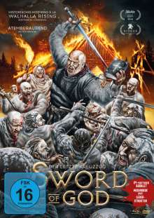 Sword of God (Blu-ray & DVD im Mediabook), 1 Blu-ray Disc und 1 DVD