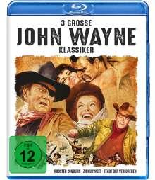 3 grosse John-Wayne-Klassiker (Blu-ray), 3 Blu-ray Discs