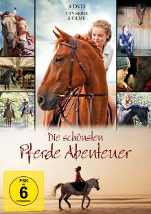 Die schönsten Pferde Abenteuer, 3 DVDs