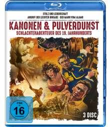 Kanonen & Pulverdunst - Schlachtenabenteuer des 19. Jahrhunderts (3 Filme) (Blu-ray), 3 Blu-ray Discs