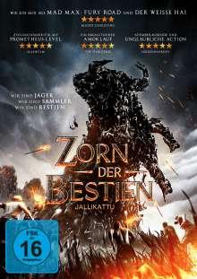 Zorn der Bestien, DVD
