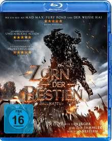 Zorn der Bestien (Blu-ray), Blu-ray Disc