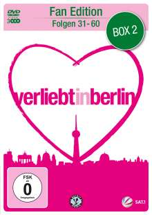 Verliebt in Berlin Box 2 (Folgen 31-60), 3 DVDs