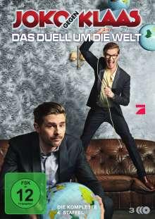 Joko gegen Klaas - Das Duell um die Welt Staffel 4, 3 DVDs