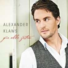 Alexander Klaws: Für alle Zeiten, CD