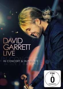 David Garrett: David Garrett Live: In Concert & In Private, DVD