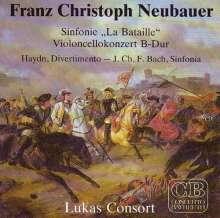 """Franz Christoph Neubauer (1760-1795): Symphonie D-Dur op.11 """"La Bataille"""", CD"""