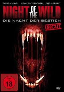 Night of the Wild - Die Nacht der Bestien, DVD